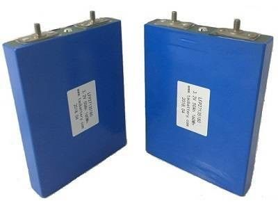 3.2v 60AH Prismatic  LiFePO4 Lithium - ion Cell for EV E - CAR