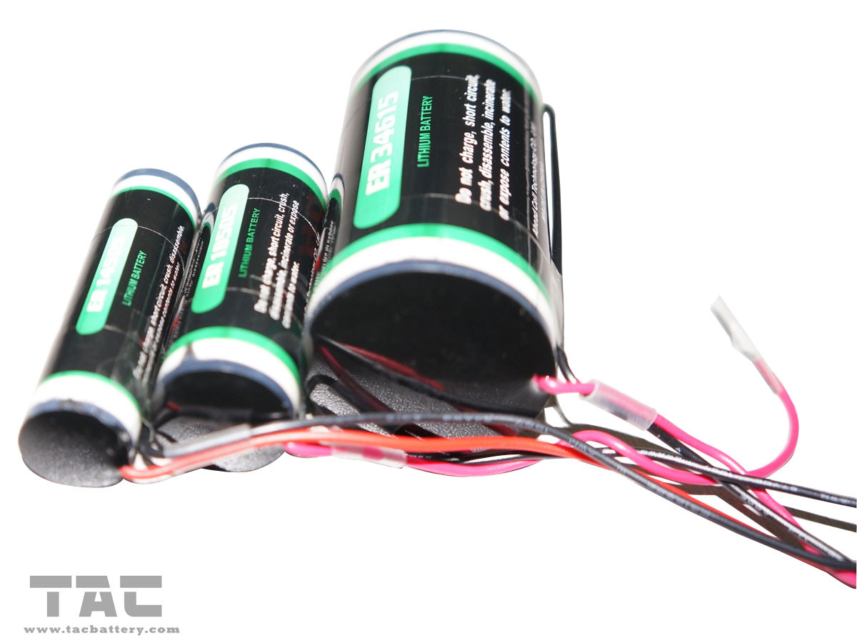 Waterproof Lithium LiSOCl2 Battery 3.6V ER18505 100 MA