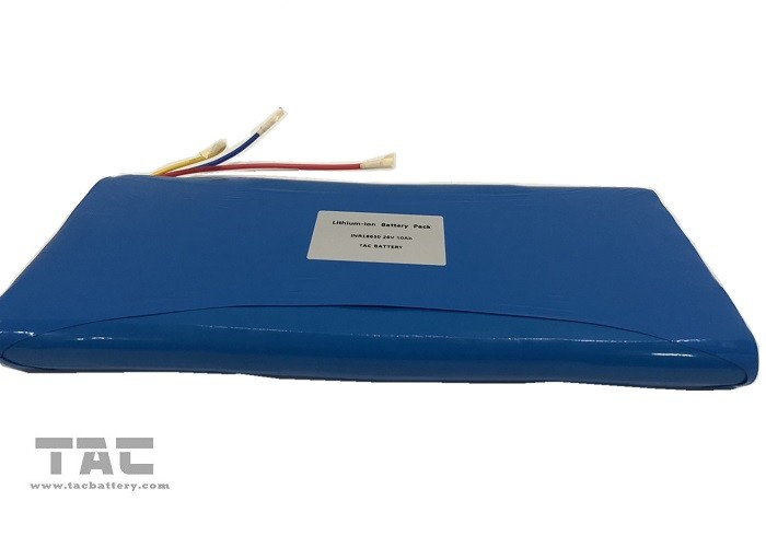 INR 18650  36V 10AH Lithium Ion Battery Pack For Electric Bike