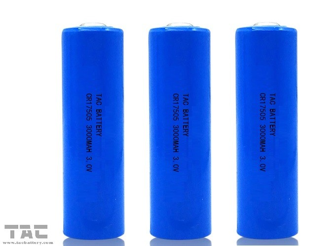 Smart Home 3000mAh 3.0V CR17505 Li-MnO2 Battery