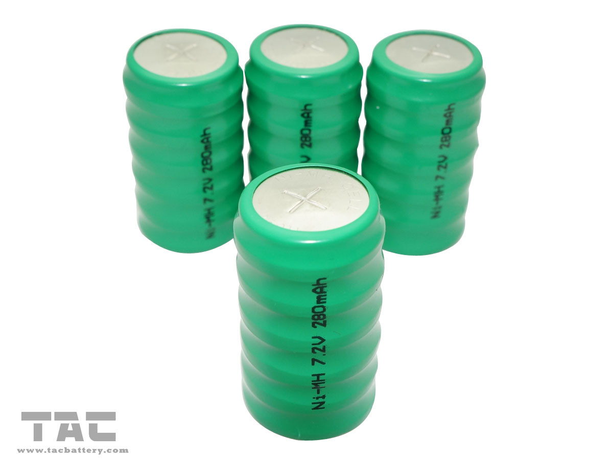 7.2V 250H Nickel Metal Hydride Rechargeable Battery of 280mAh