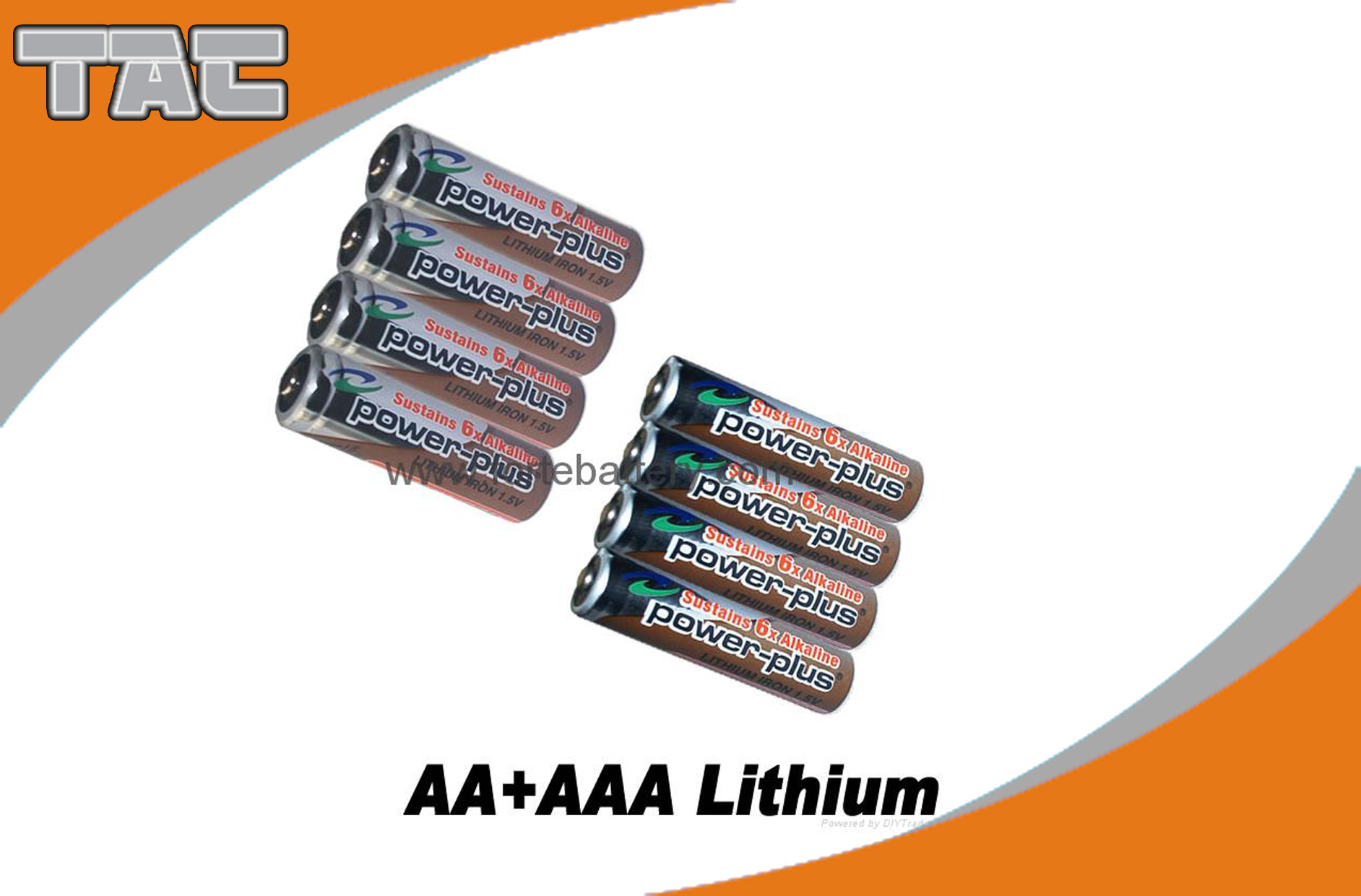 1.5V Lithium Iron LiFeS2 Battery 2700mAh High open circuit voltage