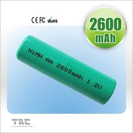 Rechargeable Ni MH Batteries Ready To Use 2700mAh 1.2V For Electrical Remote
